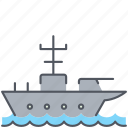 carrier, army, marine, millitary, ship, war, weapon icon