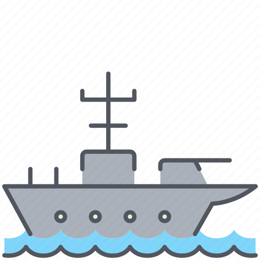 army, carrier, marine, millitary, ship, war, weapon icon