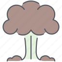 explosion, army, atomic, explosive, nuclear, war, weapon icon