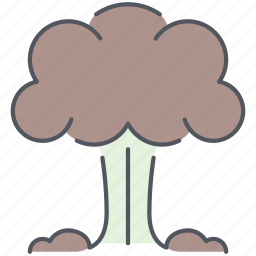 army, atomic, explosion, explosive, nuclear, war, weapon icon