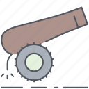field, gun, army, battle, millitary, war, weapon icon