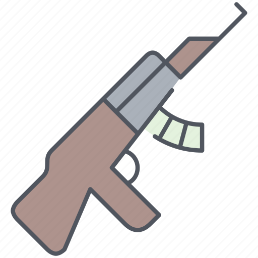 army, automatic, gun, millitary, sniper, war, weapon icon