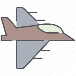 aircraft, airplane, army, fighter, jet, millitary, war icon