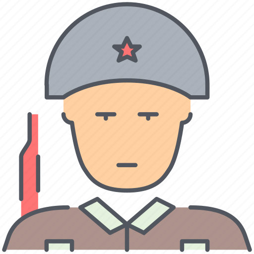 army, helmet, millitary, soldier, warrior, weapon, world war icon