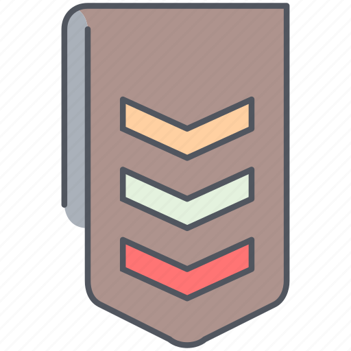 army, badge, millitary, reward, ribbon, soldier, war icon