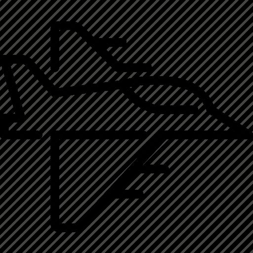 airforce, fighter, jet, jet plane, military, plane, war icon