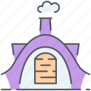 fairytale, fantasy, hobbit, home, house, hut, magic icon