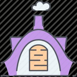 fairytale, fantasy, hobbit, home, house, hut, magic icon