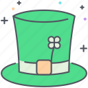 fairytale, fantasy, hat, irish, leprechaun, magic, saint patrick icon