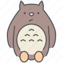 creature, fairytale, fantasy, japanese, magic, monster, totoro icon