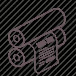 flexo, offset, plain, press, print, printing, production icon