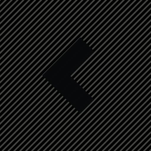 arrow, arrow left icon