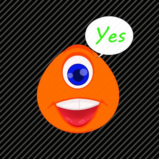 avatar, cartoon, character, emoji, emoticon, expression, smiley icon