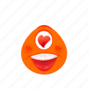 avatar, cartoon, emoji, expression, face, happy icon
