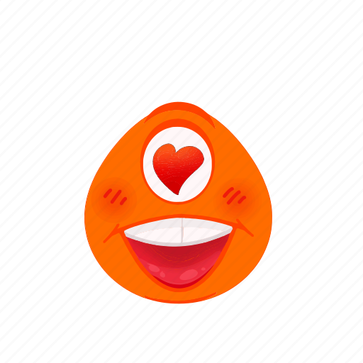 avatar, cartoon, emoji, expression, face, happy icon