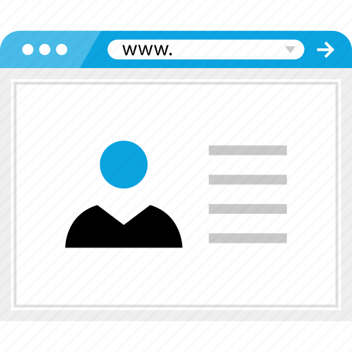 brower, facebook, online, web icon