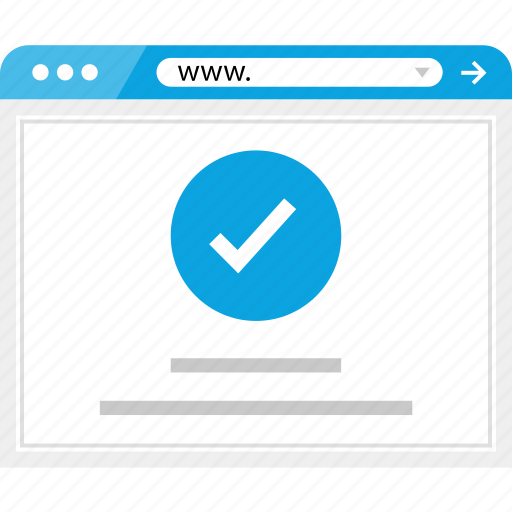 check, good, mark, page icon