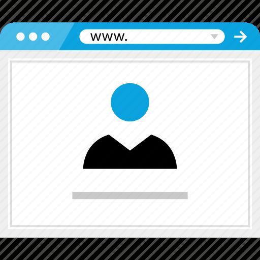 data, facebook, friend, online icon