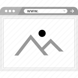 full, gallery, page icon