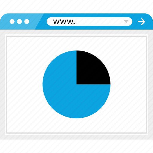graph, online, report, web icon