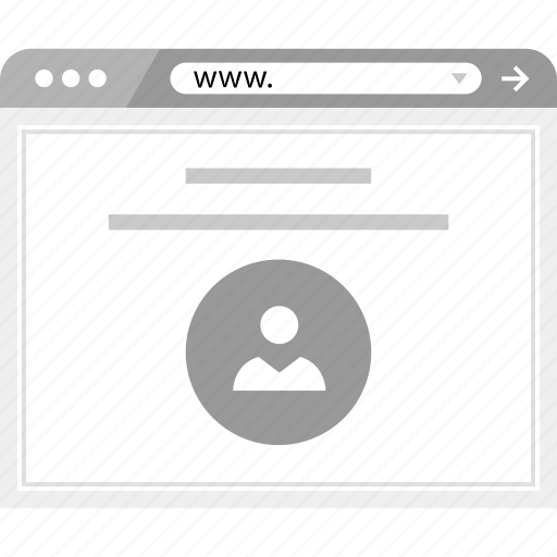 brower, online, web, wireframe icon