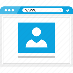 facebook, online, post, web icon