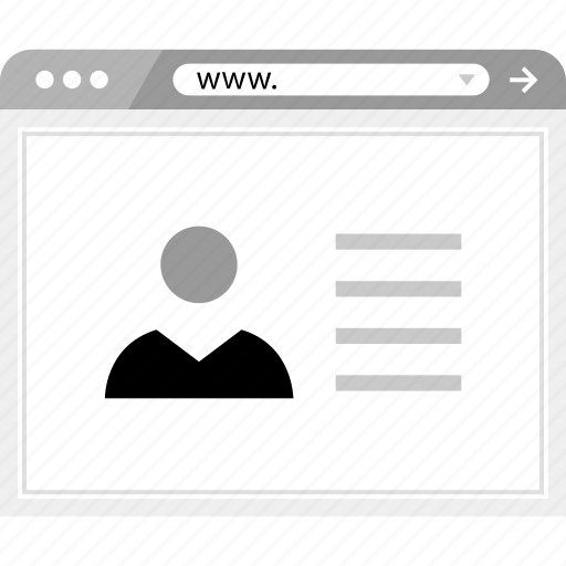 facebook, user, wireframe icon