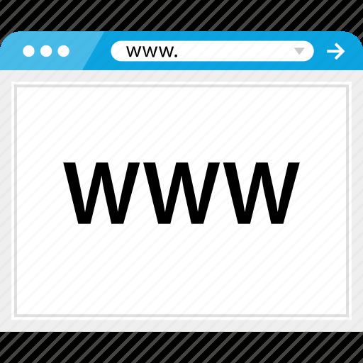 brower, web, website, wireframe, www icon
