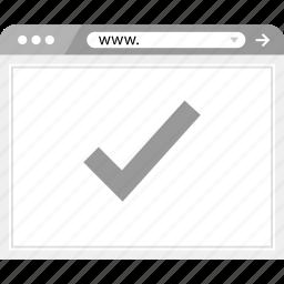 good, ok, wireframe icon