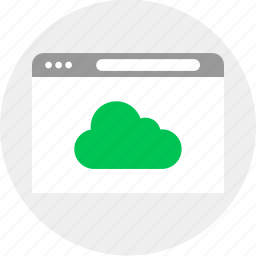 business, cloud, money, upload icon
