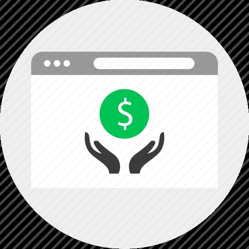 Business, dollar, hands, money icon - Download on Iconfinder