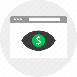 business, find, look, money icon