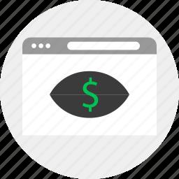 business, look, money icon