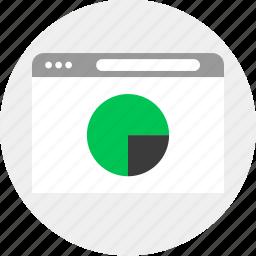 business, chart, money, pie icon