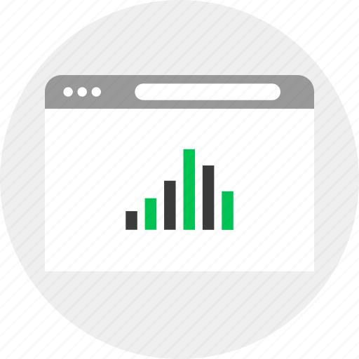 business, money, online, results icon
