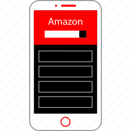 amazon, home, page, search icon
