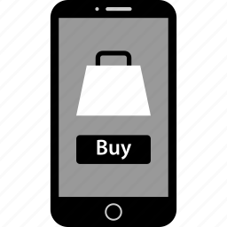 buy, mobile, online icon