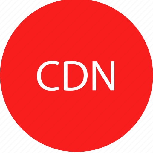 cdn, online, server, web icon
