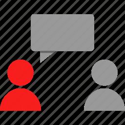 chat, conversation, sms, talk icon