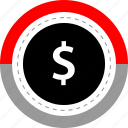 dollar, marketing, money, sign icon