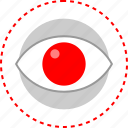 eye, time, watch, youtube icon