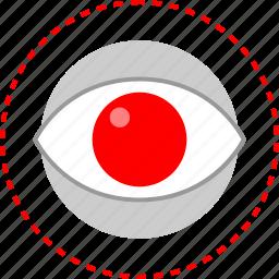 eye, time, watch, youtube icon