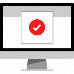 checkmark, form, gmail, mail icon