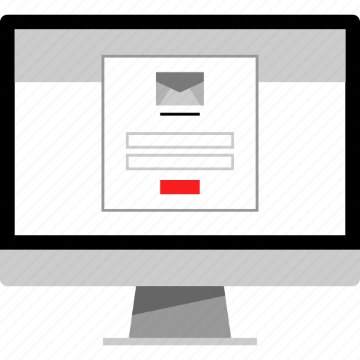 check, gmail, login, mail icon
