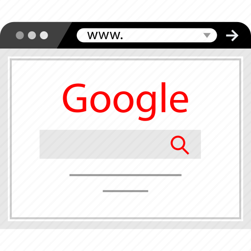 google, home, page, search icon
