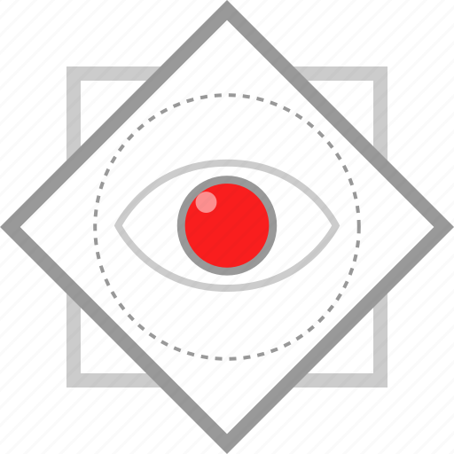 eye, graphic, time, view icon