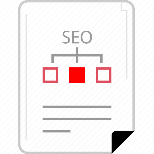 internet, page, seo, web icon