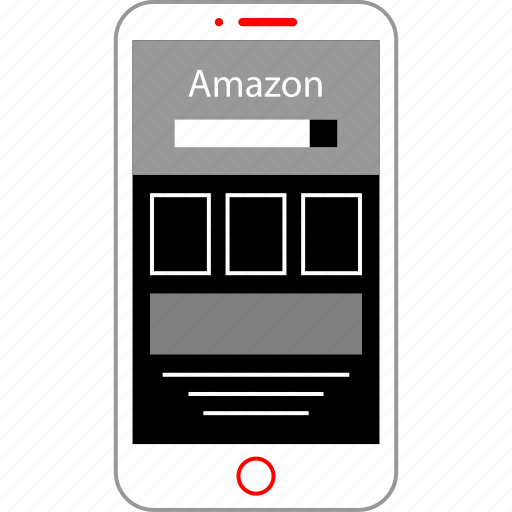 Amazon, mobile, shopping icon - Download on Iconfinder