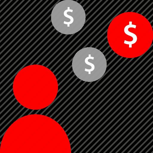marketing, money, seo, web icon