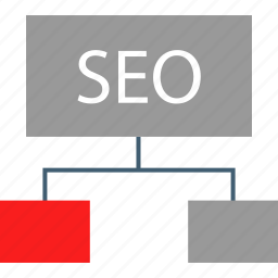 connect, linking, seo, web icon